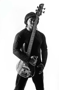 Victor Wooten Monochromatic Poster