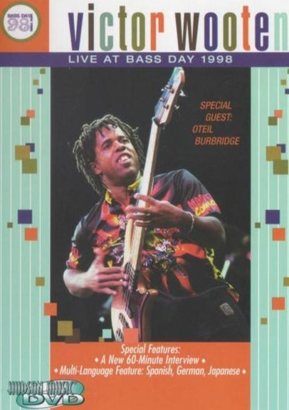 'Victor Wooten: Live at Bass Day 98' DVD