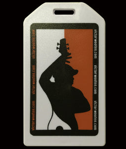 Victor Wooten Silhouette Luggage Tag