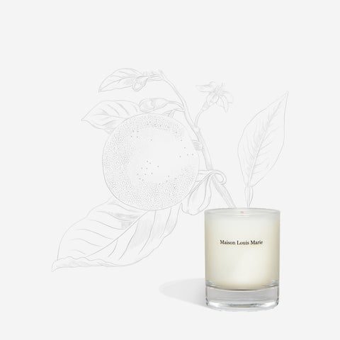 N0.09 Vallée de Farney - Votive candle - Sample