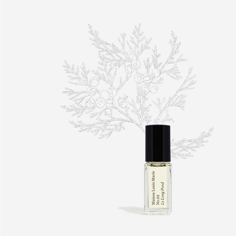 SAMPLE - Perfume Oil - 3ml roller bottle N0.02 Le Long Fond