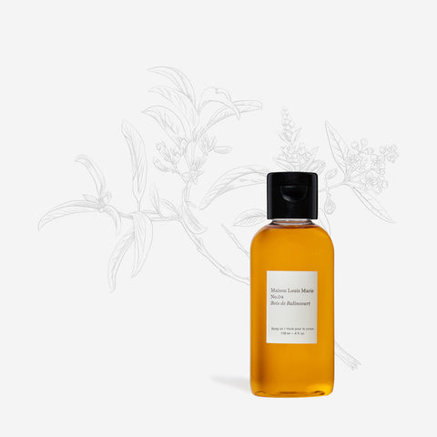 No.04 Bois de Balincourt - Body oil