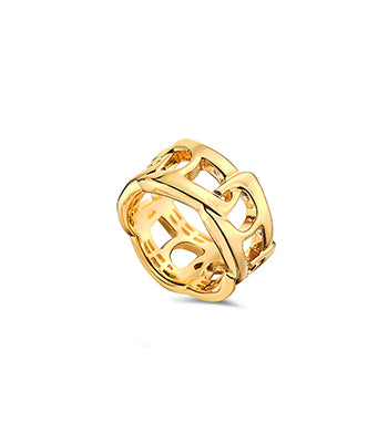 Unity Ring Yellow Gold - NIMANY Studio