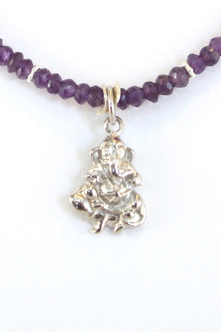 The Ganesh Project - Amethyst (Silver)