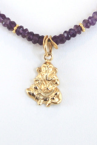 The Ganesh Project - Amethyst (Gold)
