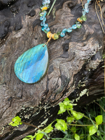 Blue whale labradorite - sold - other options available