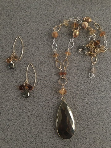 Autumn - Pyrite & Citrine