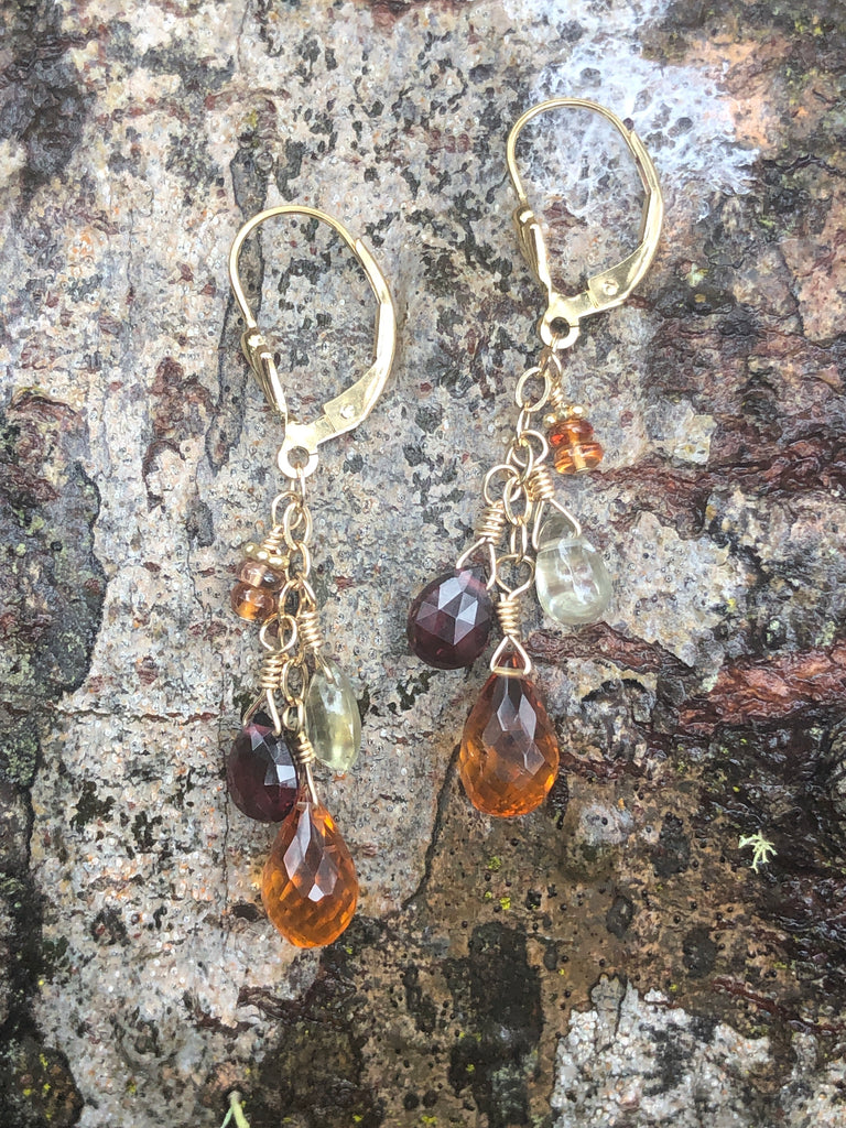 Deep Cycles earrings