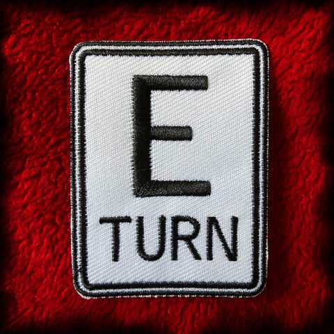 E-Turn Logo Patch