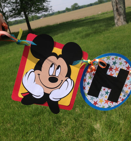 Mickey Clubhouse Happy Birthday Banner