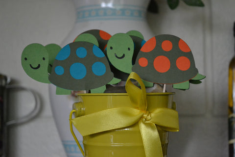 Turtle / turtles CupCake Toppers (Set of 12)