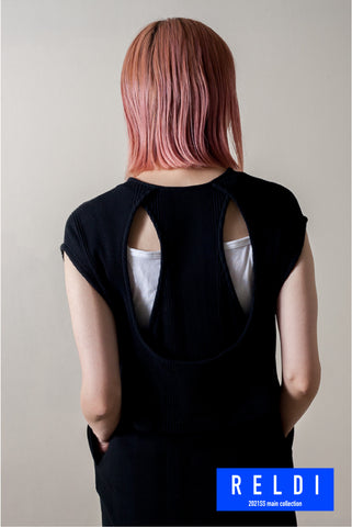 BACK CONSCIOUS LAYERED DRESS / REL212-010