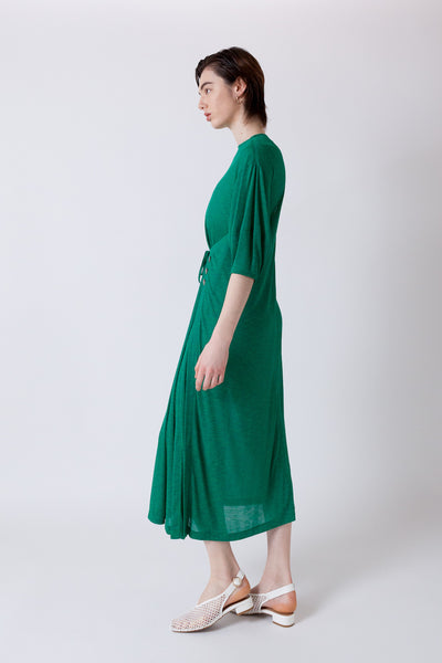 WRAPED JERSEY DRESS【REL202-007】