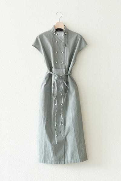 DOUBLE-BREASTED DRESS【REL201-008】