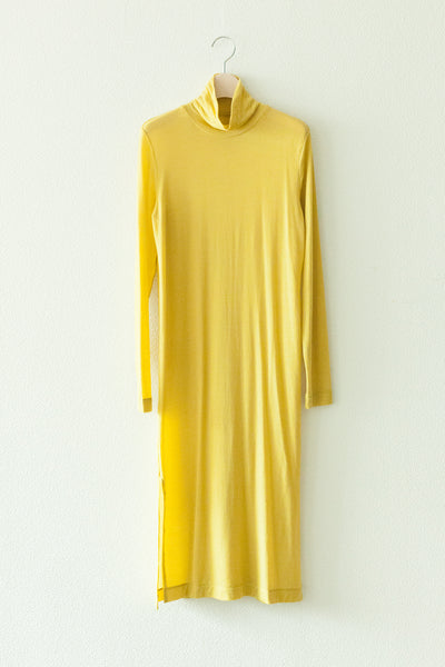 HIGH-NECKED SHEER DRESS【REL201-018】