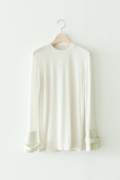 COMBINATION-CUFFS SHEER TOPS【REL201-019】