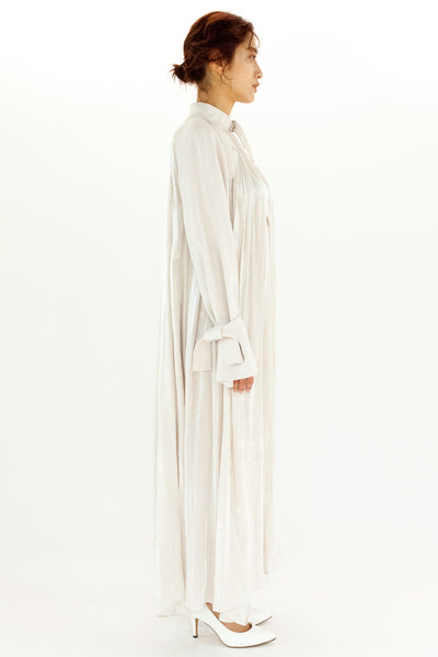 GATHERED EMPIRE DRESS【REL204-010】