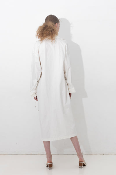 SLASH-NECK BOXY DRESS 【SPUR5月号 P73掲載】【REL201-010】