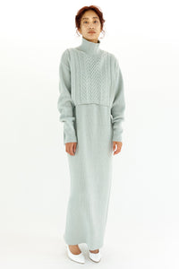 MULCH WAY KNIT DRESS【REL204-015】