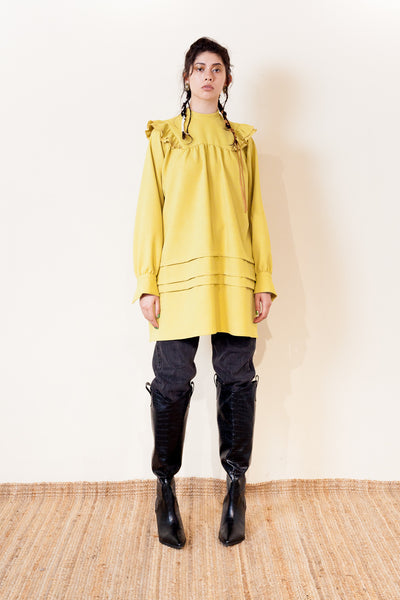 【NEW】MANTEAU TUNIC DRESS / REL205-011