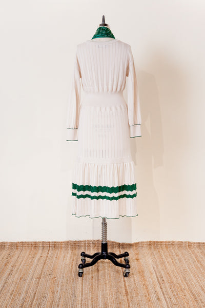 【NEW】OPENWORK KNIT DRESS / REL205-018