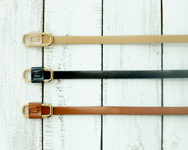 RECTANGLE-BACKLE BELT