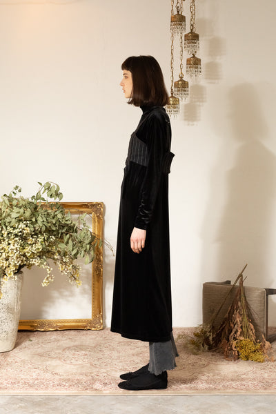 VELVET LONG-DRESS 【otona MUSE 11月号 掲載】