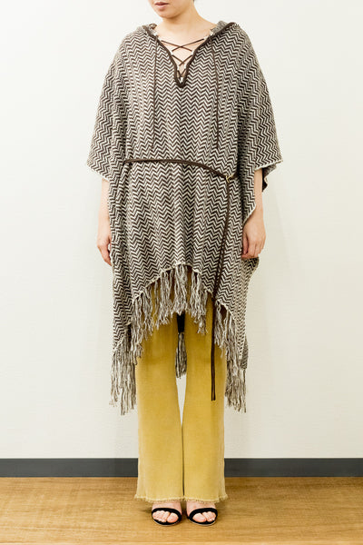 HERRINGBONE CAPE