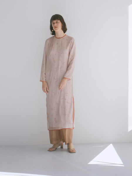 PRIMITIVE PATTERN DRESS / REL211-012