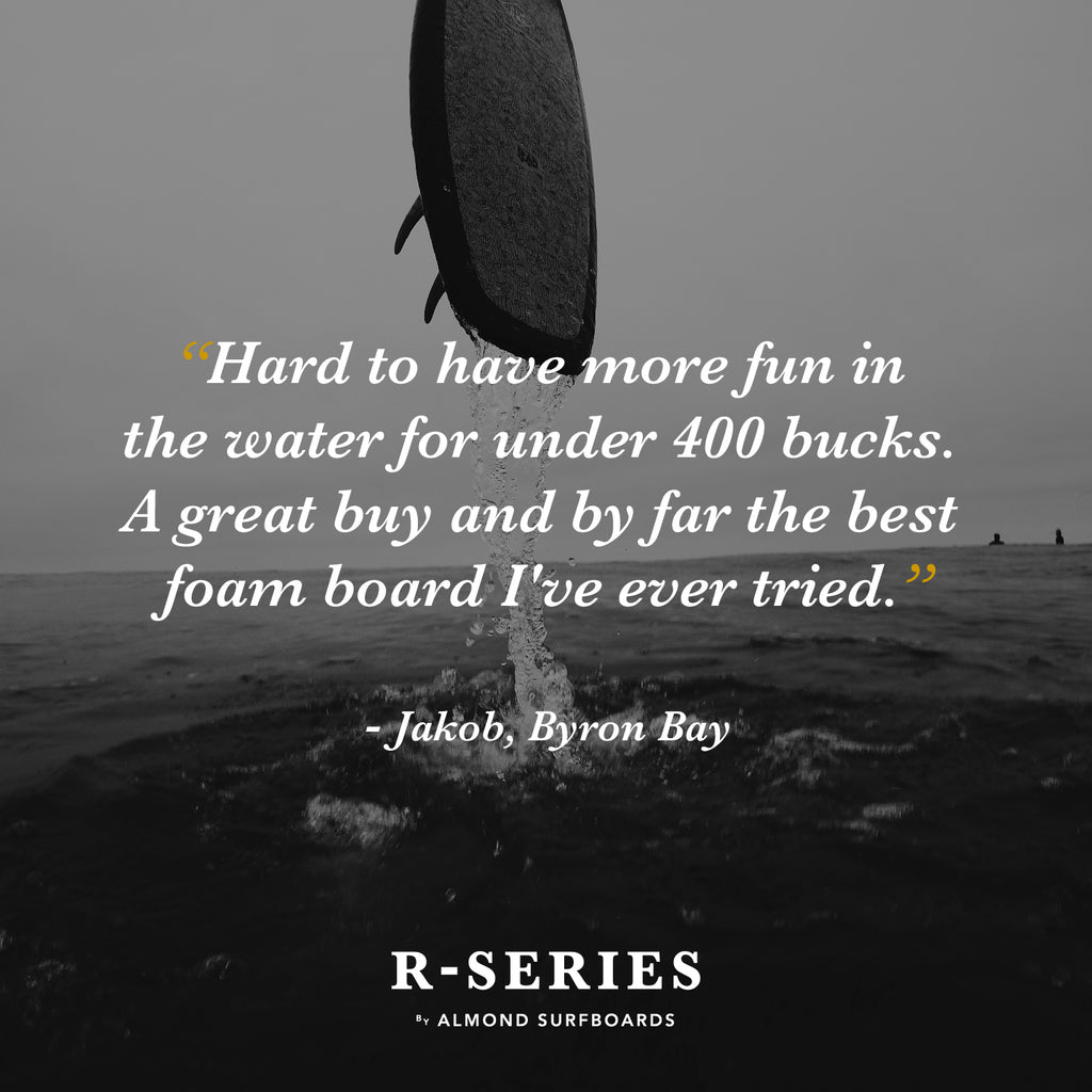 R-Series Surfboard Review