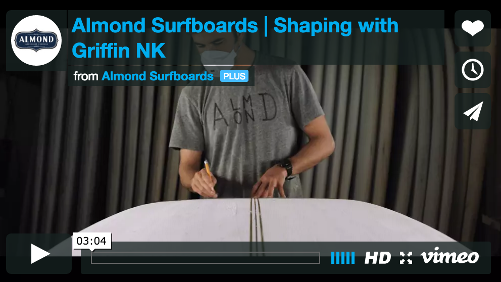 Surfboard Shaping with Griffin NK