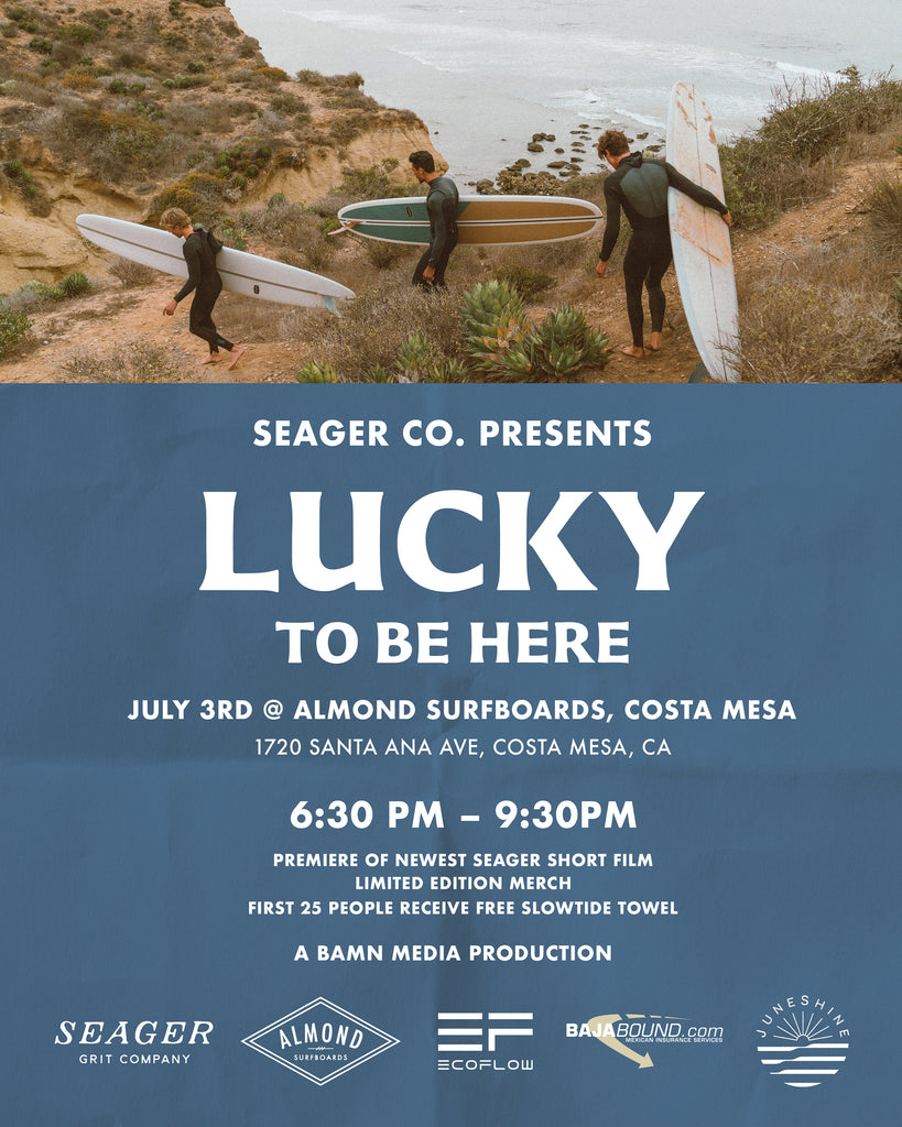 Lucky to Be Here | Movie Premier