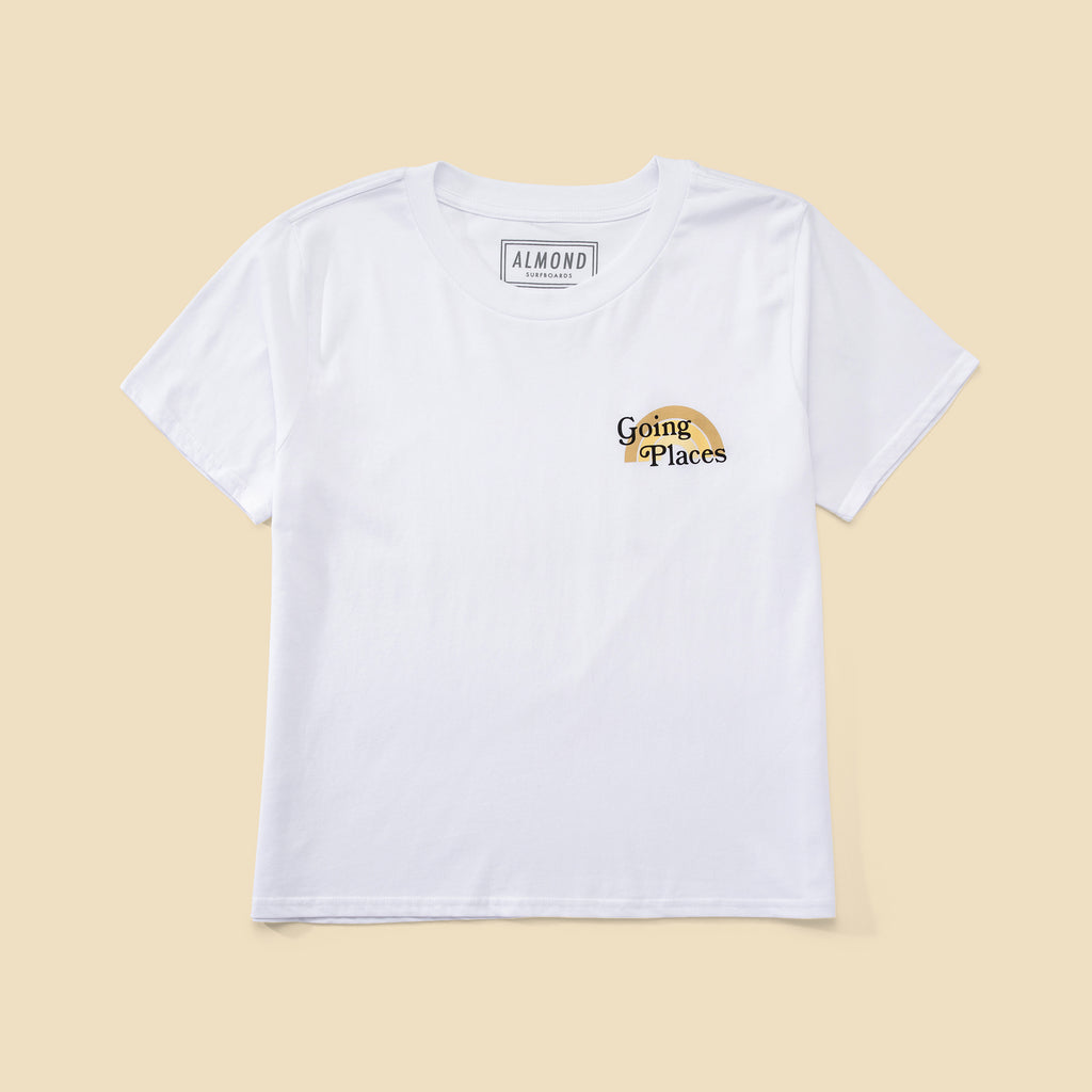 Women's Going Places Tee | White