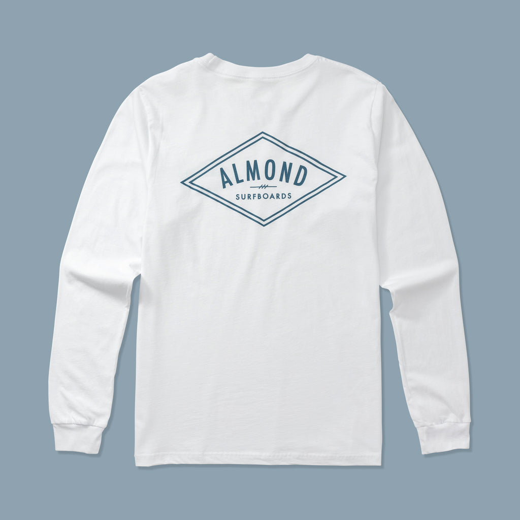 Decades Tee Long Sleeve | White