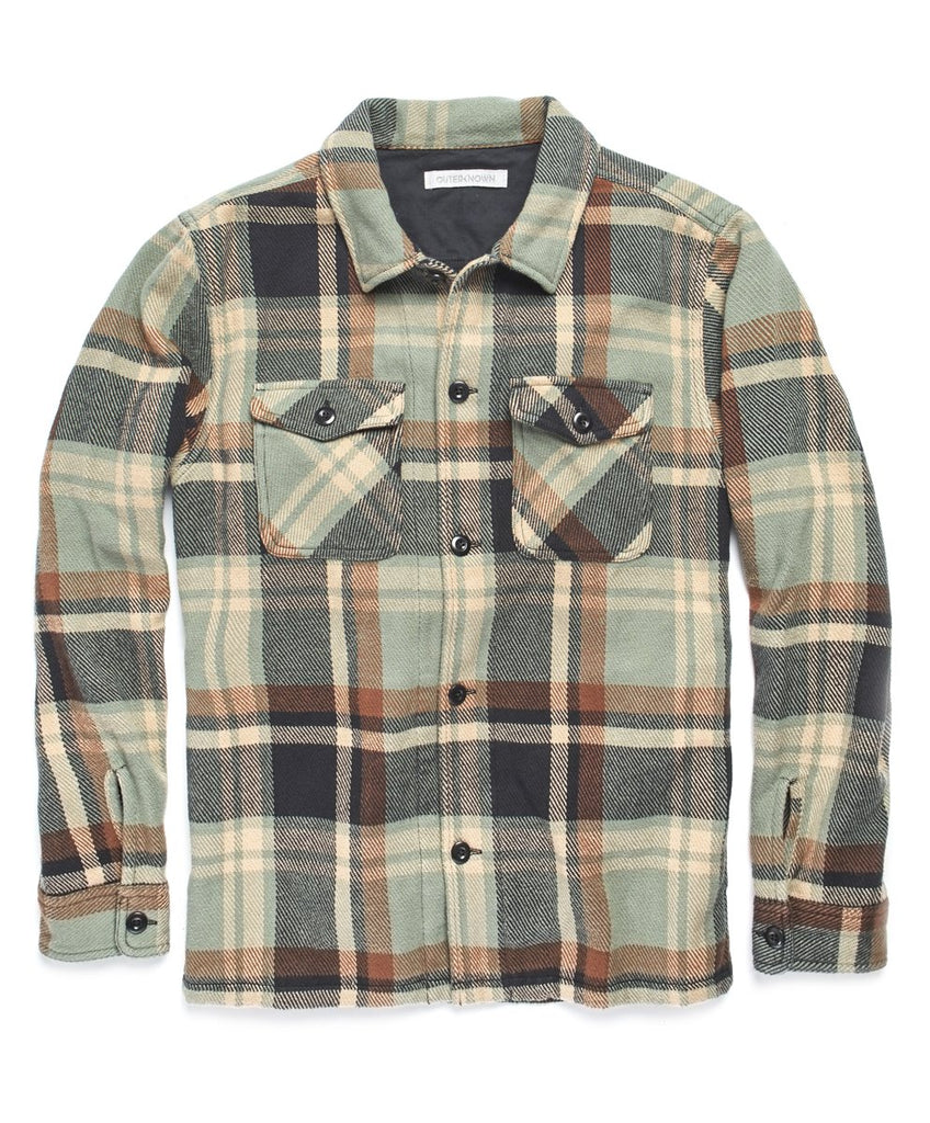 Blanket Shirt Jacket | Field Plaid
