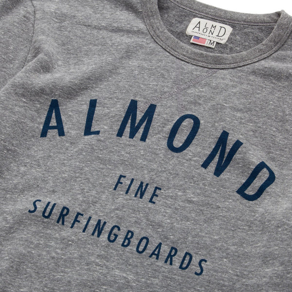 Fine Surfing Boards Pullover // Heather Grey