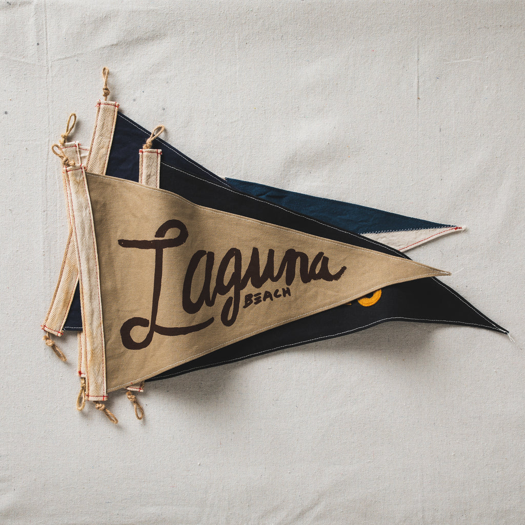 Slightly Choppy <br> Laguna Beach Flag