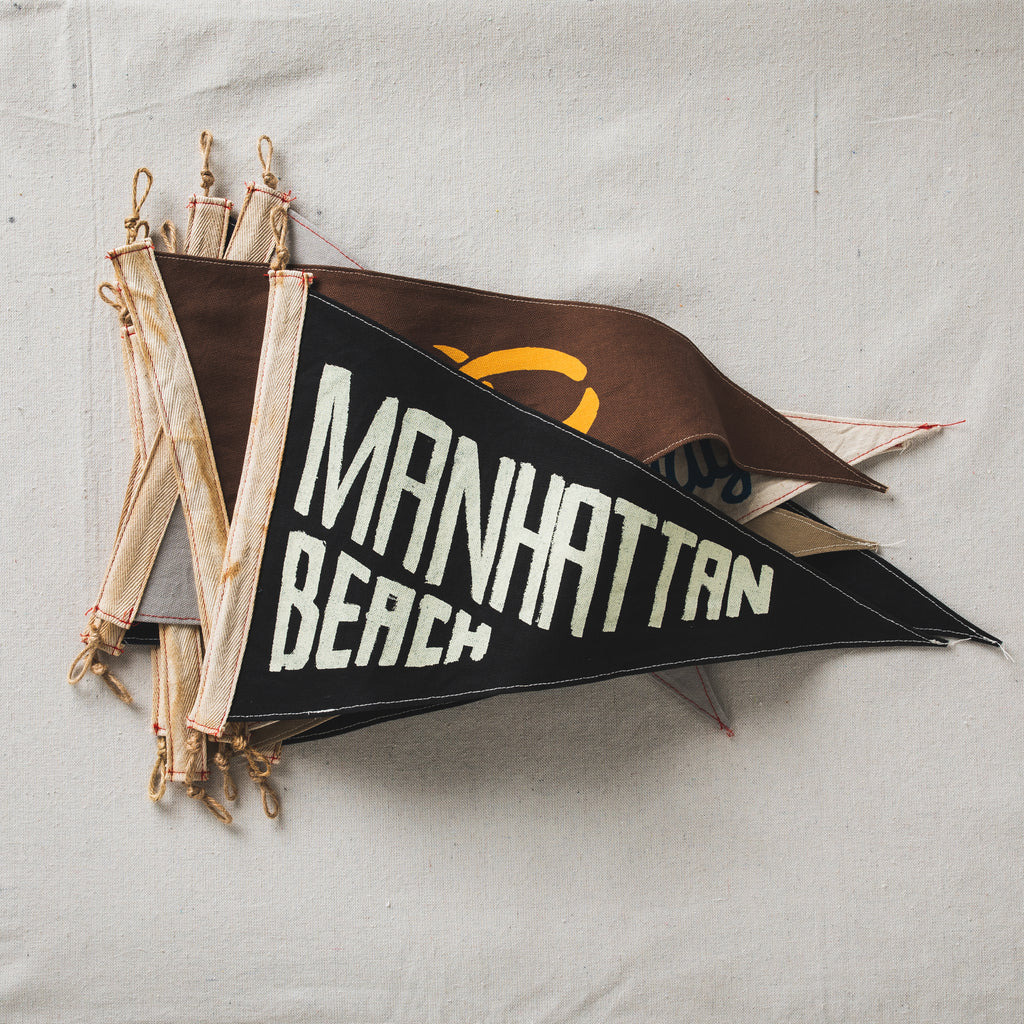 Slightly Choppy <br>Manhattan Beach Flag