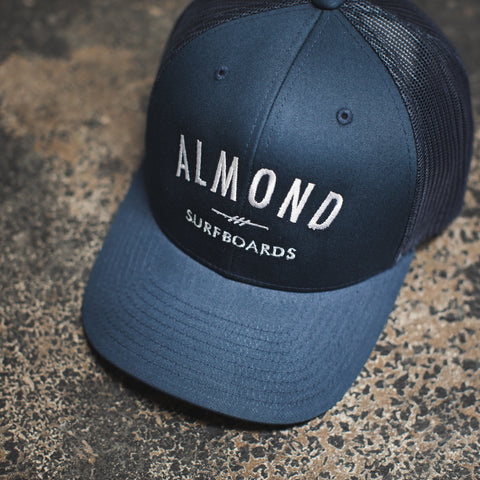 Navy Fine Surfboards Trucker Hat