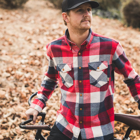 Trailhead Flannel | Red