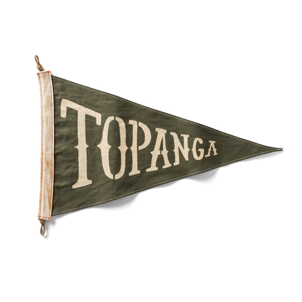 Slightly Choppy <br> Topanga Flag