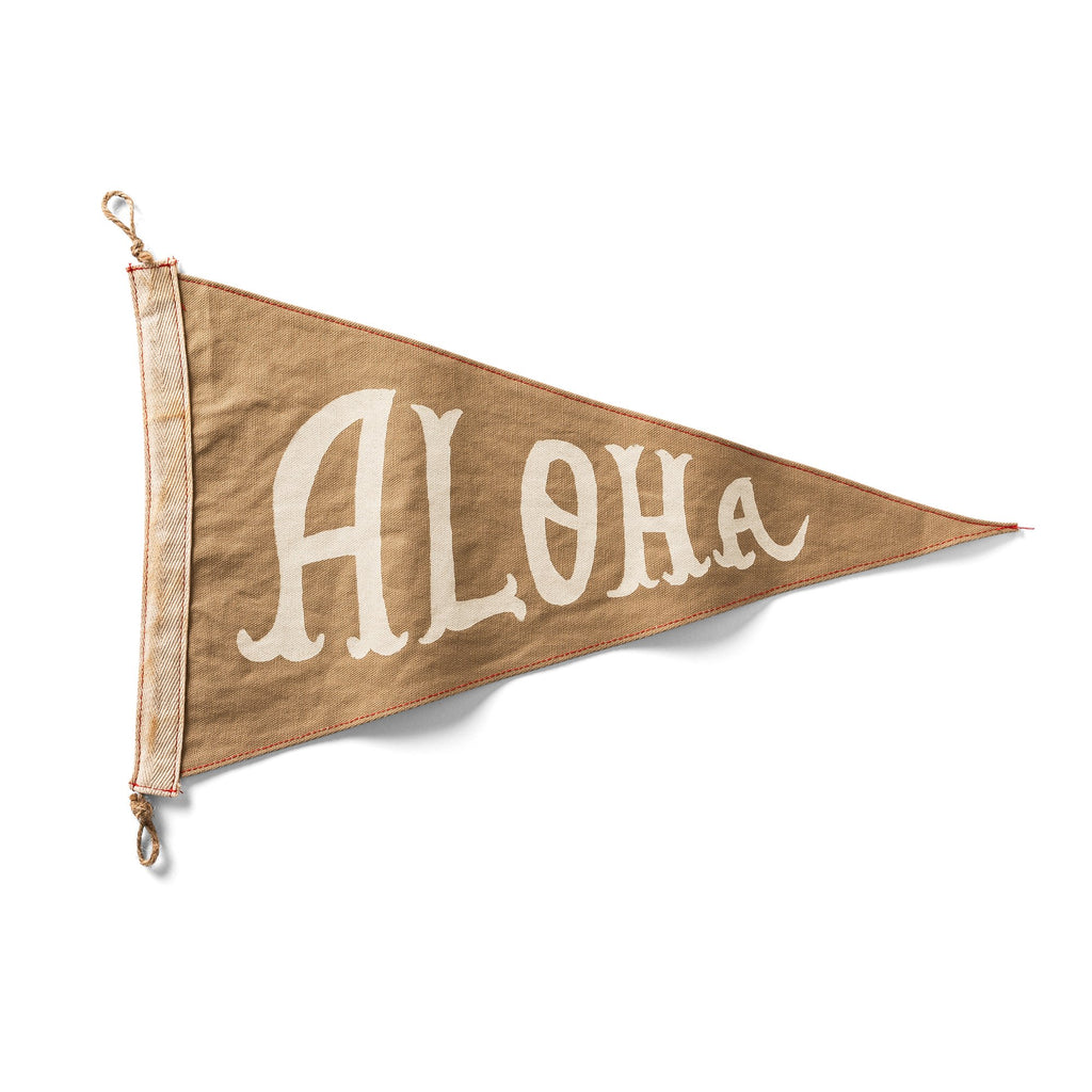 Slightly Choppy <br> Aloha Flag - Tan