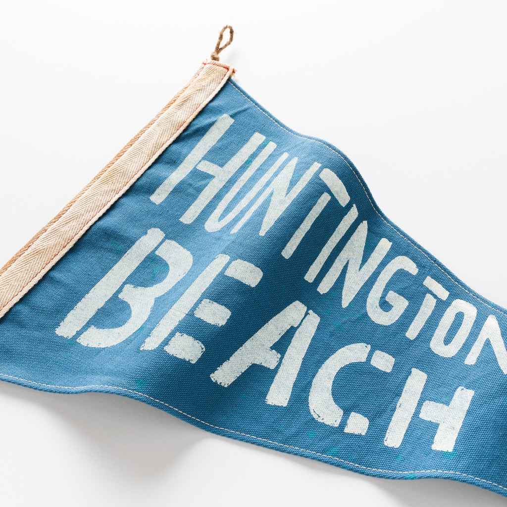 Slightly Choppy <br> Huntington Beach Flag