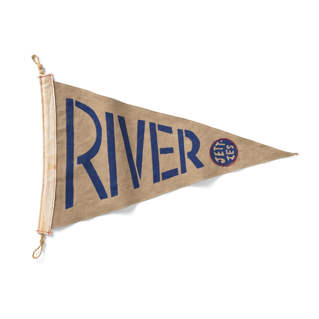 Slightly Choppy <br> River Jetties Flag