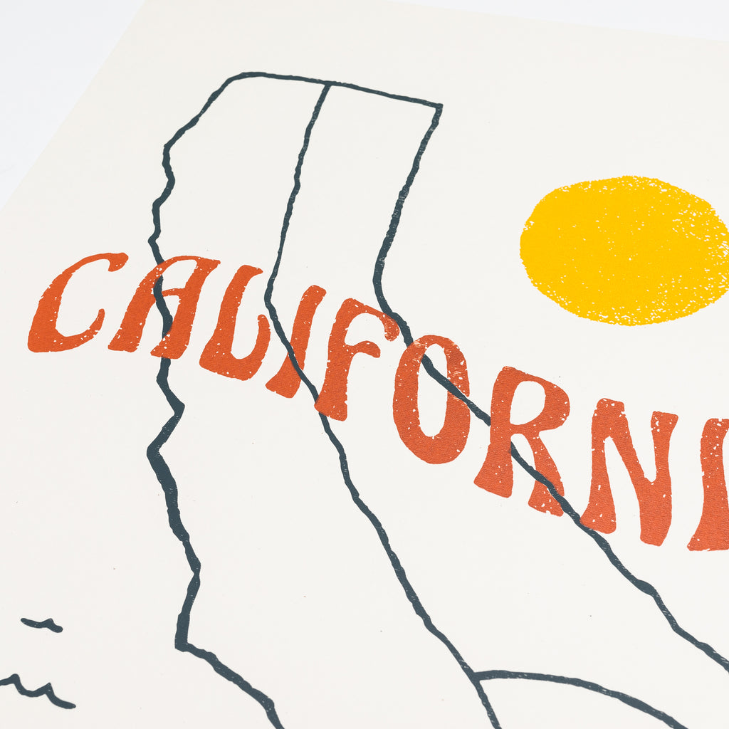 "Surf California Print | 16x20"" Print"