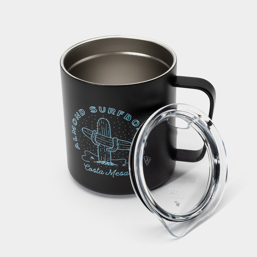 Cactus Insulated Mug | Black
