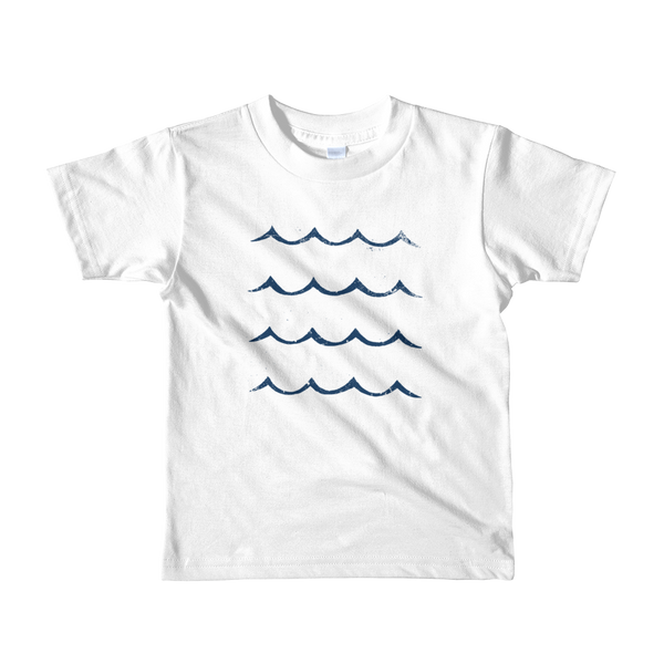 Kid's Waves Tee | White