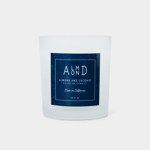Almond x Coconut Scented Candle (10 oz.)