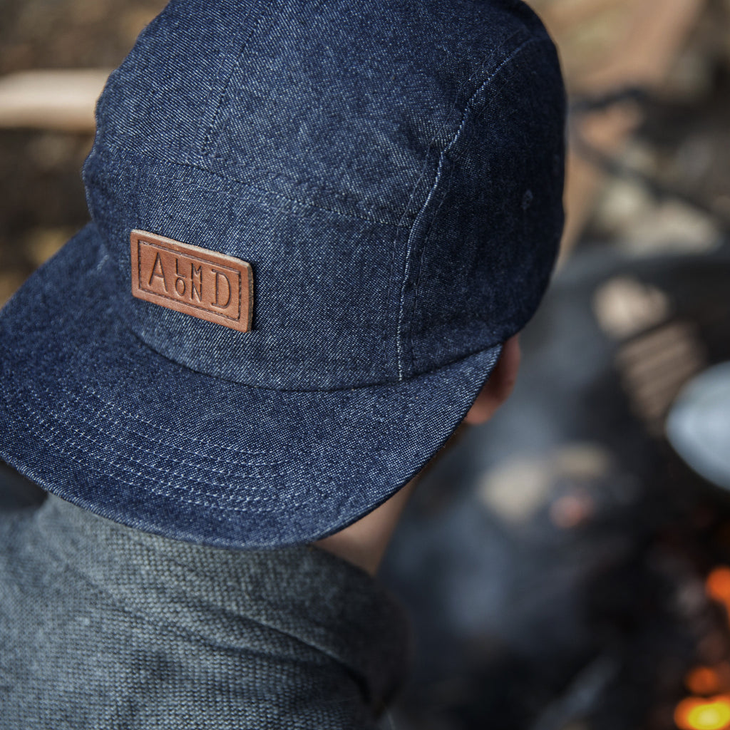Denim Camp Hat