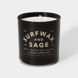 Surf Wax and Sage Soy Candle (10 oz.)
